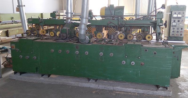 Станок четырехсторонний строгальный станок С25-5 сечение 260х160 мм