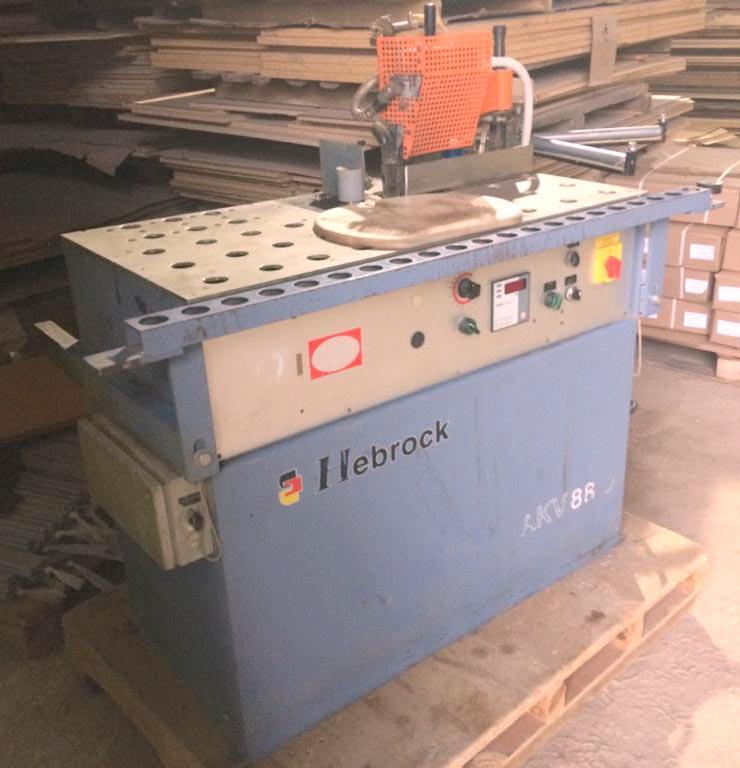 Криволинейный кромкооблицовочный станок Hebrock AKV 88D